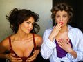 Lauren Cohan and Tanit Phoenix - lauren-cohan photo