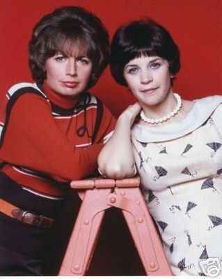 Laverne & Shirley wallpaper possibly containing a portrait entitled Laverne & Shirley