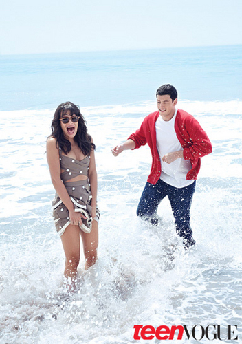 Lea and Cory's Teen Vogue 照片 Shoot