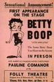Little Ann Little as Betty Boop Leaflet - betty-boop photo