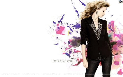Lovely Taylor वॉलपेपर