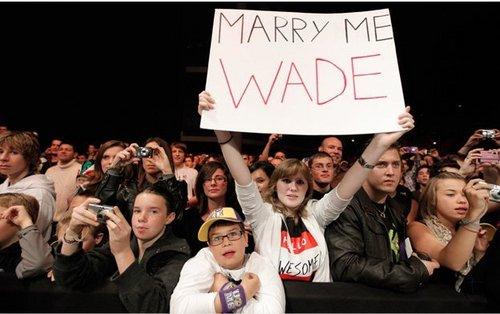 MARRY ME WADE