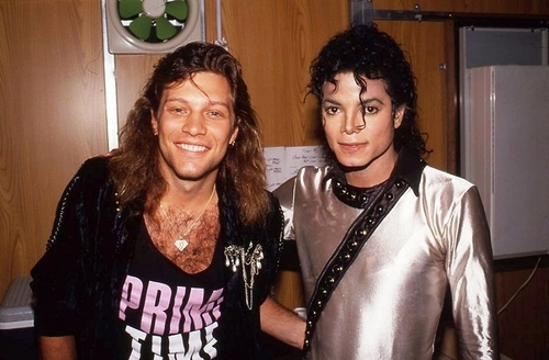 MJ and Bon Jovi