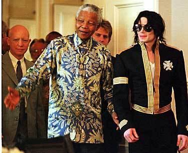 MJ n Mandela