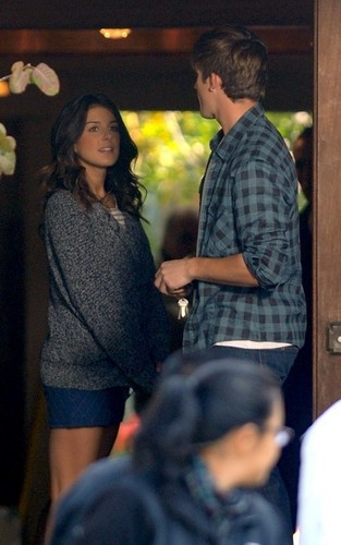 Matt Lanter & Shenae Grimes Onset