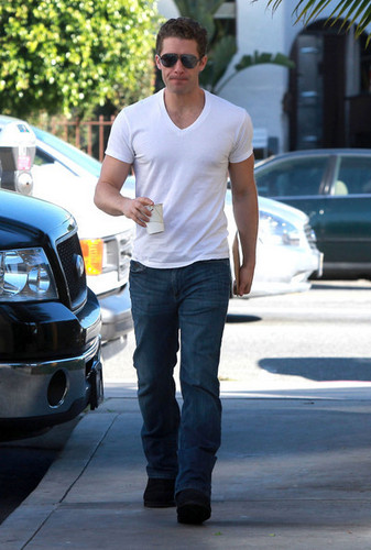 Matthew out and about in LA
