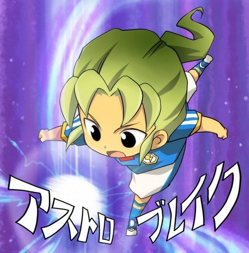 Inazuma Eleven wallpaper containing anime titled Midorikawa Ryuuji Chibi