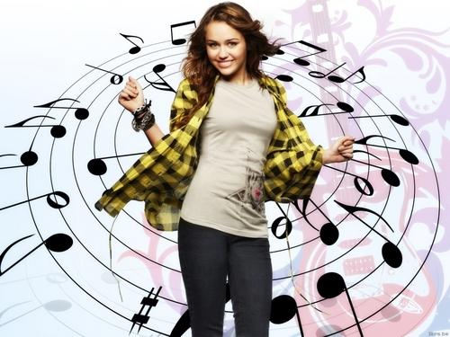 Miley Cyrus achtergrond