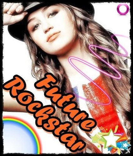Miley The Rockstar....!!!!