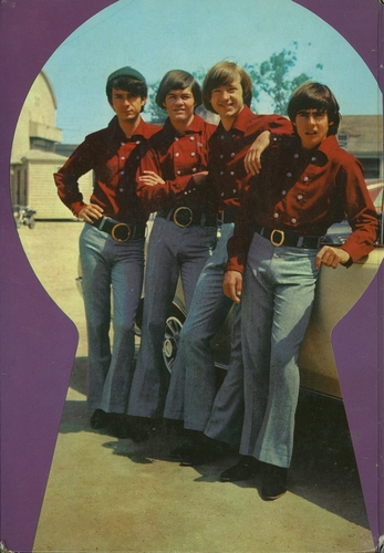 Monkees Annual back cover