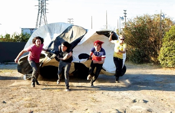 My Chemical Romance ~ Spin Magazine Photoshoot (December 2010)