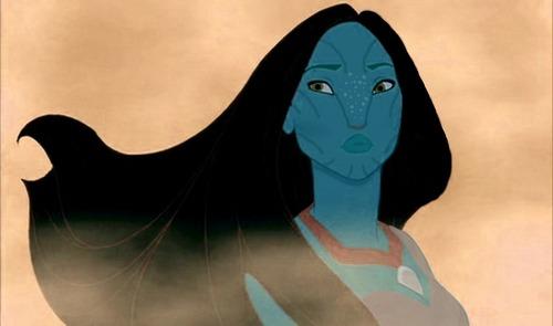 Na'vi Pocahontas
