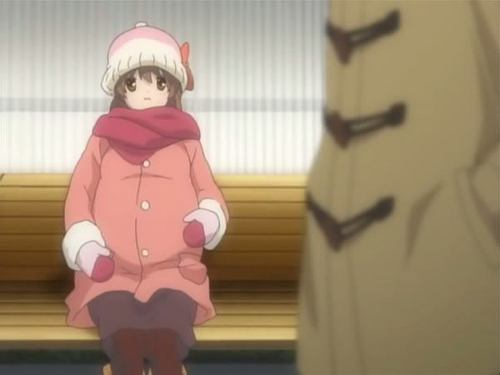 Nagisa pregnant. X3