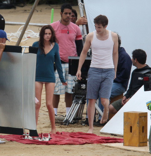 New pictures of BD filming