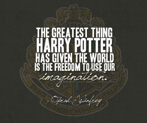 Oprah Quote on Harry Potter