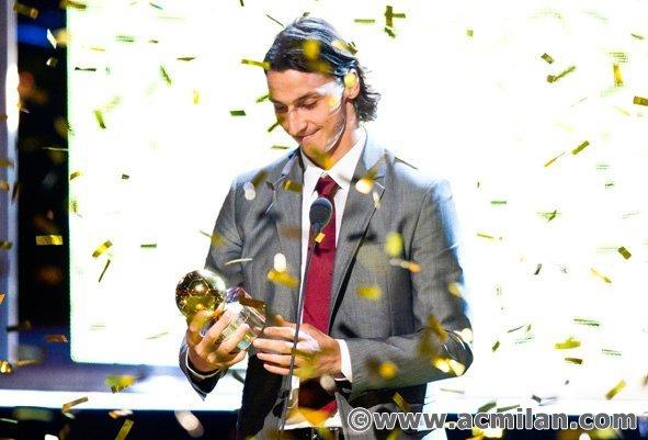 Pallone d'oro a Zlatan Ibrahimovic
