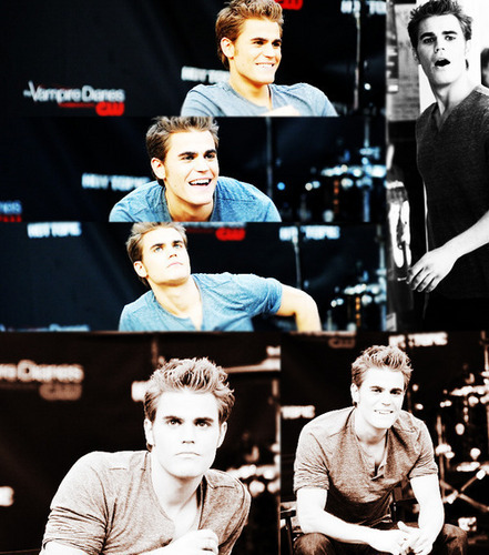 Paul Wesley wallpaper possibly with a concert and a sign called Paul <33