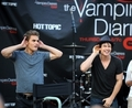 Paul and Ian - the-vampire-diaries-actors photo