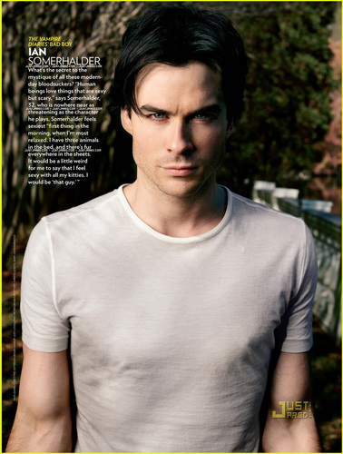 People's 'Sexiest Man Alive' - Ian's Feature!