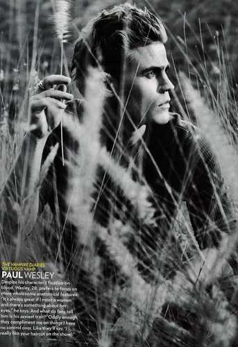 Paul Wesley wallpaper called People's 'Sexiest Man Alive' - Paul's Feature!