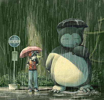 পোকেমন // My Neighbor Totoro Crossover