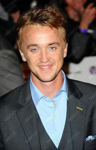 Tom Felton wallpaper containing a business suit titled Pride of Britain Awards