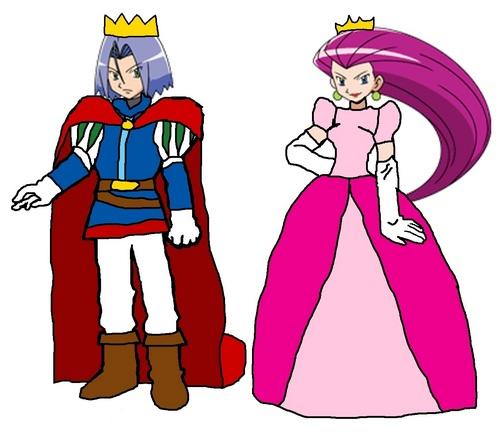 Prince James and Princess Jessie
