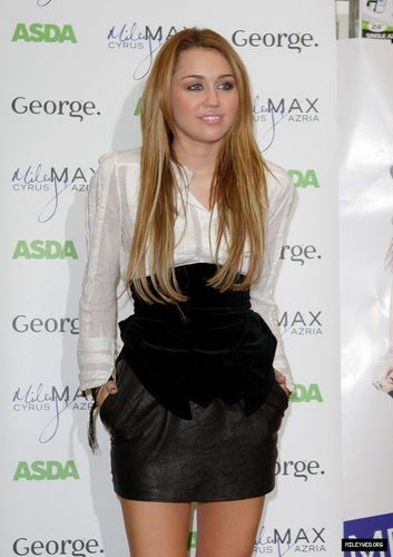 Promoting Her Clothing Line at ADSA Store in Derby,UK,November 9th,2010