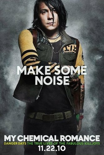 Promotional Poster for 'Danger Days: The True Lives of the Fabulous Killjoys' : Frank Iero - my-chemical-romance Photo