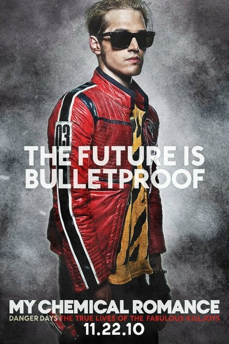 Promotional Poster for 'Danger Days: The True Lives of the Fabulous Killjoys' : Mikey Way