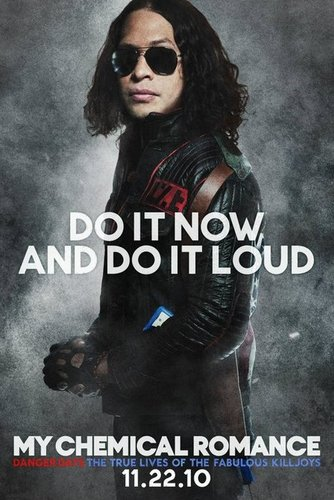 Promotional Poster for 'Danger Days: The True Lives of the Fabulous Killjoys' : луч, рэй Toro