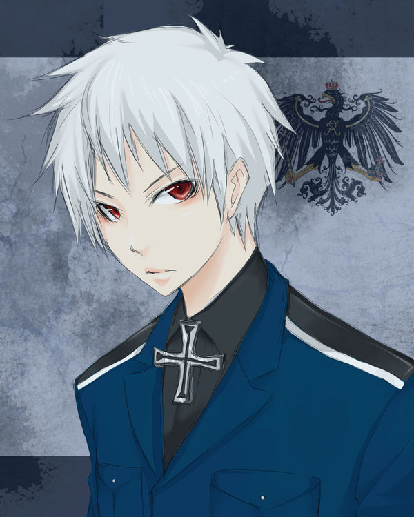 Anime Characters With White Hair : Prußεn hetalia prussia photo  fanpop