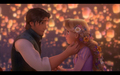 tangled - Rapunzel and Flynn wallpaper