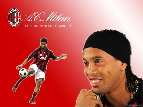 Ronaldinho always happy!