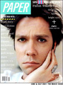 Rufus Wainwright Paper magazine cover