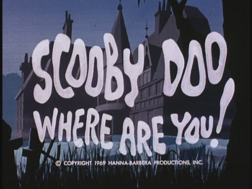 Scooby-Doo wallpaper probably containing a sign entitled Scooby-Doo, Where Are You! - The Original Intro