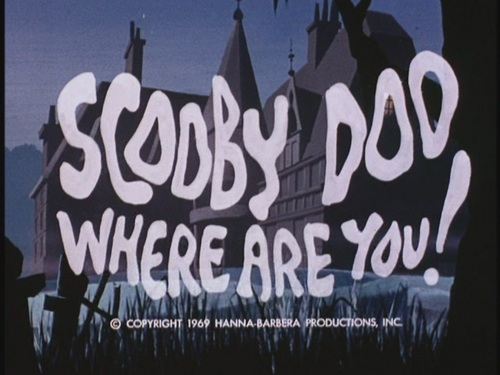 Scooby-Doo wallpaper probably containing a sign called Scooby-Doo, Where Are You! - The Original Intro