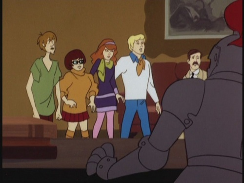 Scooby-Doo hình nền containing anime entitled Scooby-Doo, Where Are You! - What a Night for a Knight - 1.01