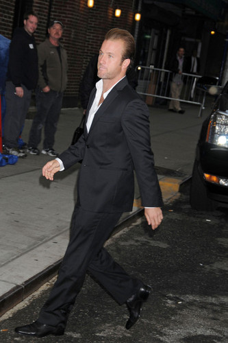 """Scott Caan Arrives at the """"Late ipakita with David Letterman"""""""