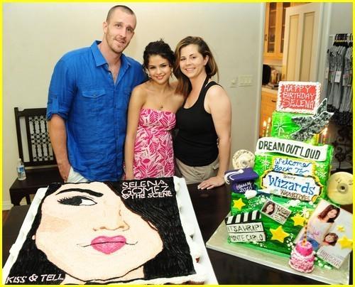 Selena Gomez 18th Birthday Celebration,2010