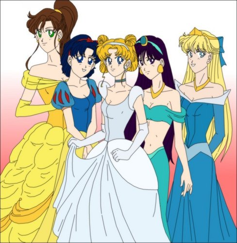 Senshi disney Princess