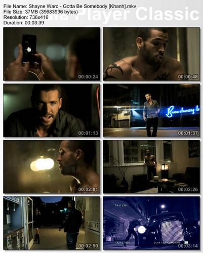 """Shayne's Video Pics From """"Gotta Be Somebody"""" :) x"""