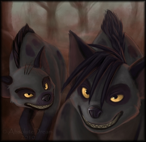 Hyenas from Lion King wallpaper called Shenzi and Banzai