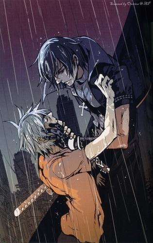 Shiki and Akira