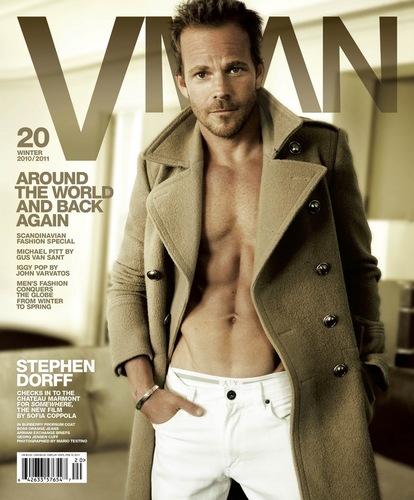 Stephen Dorff on VMAN Winter 2010/2011 Cover