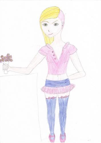 Sweet schoolgirl - Evil inside