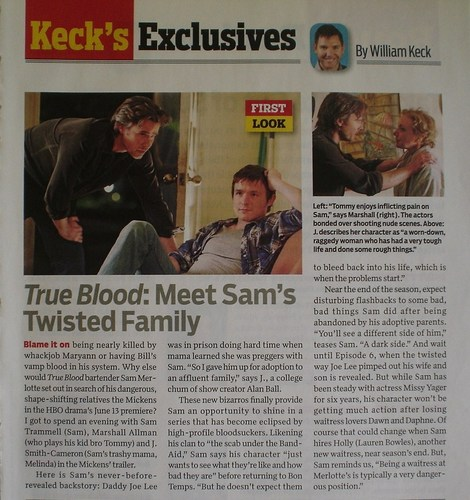 TV Guide article