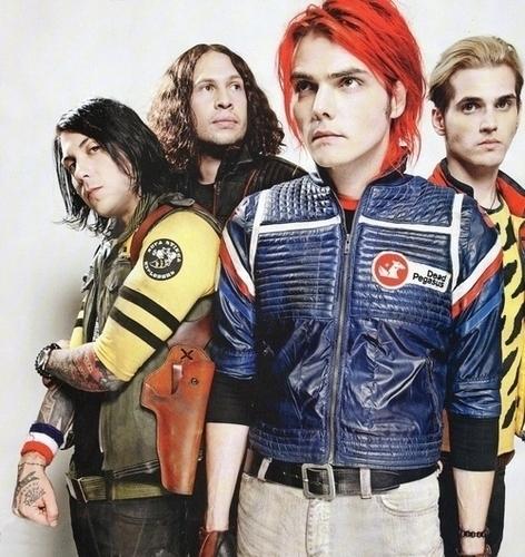 My Chemical Romance wallpaper entitled The Fabulous Killjoys