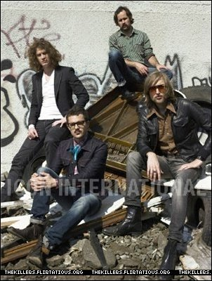 The Killers Alexei heno, hay foto shoot