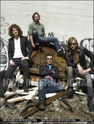 The Killers Alexei hay foto shoot